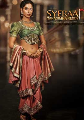 Tamannah Bhatia as Lakshmi: First Look from Sye Raa Narasimha Reddy