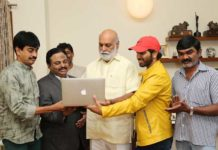 '4 LETTERS' MOVIE TEASER LAUNCHED BY LEGENDARY Director SRI. K. RAGHAVENDRA RAO GARU.