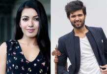 After a Hug now Apple Girl to romance Vijay Deverakonda