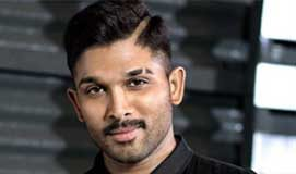 Allu Arjun Lovers Day treat with Sensation girl