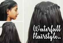Beautiful Waterfall Braid Hairstyle Cute Girls Hairstyles 2019