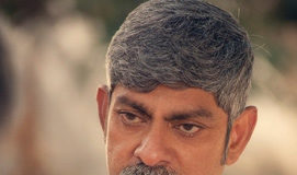 First Look Jagapathi Babu as YS Raja Reddy