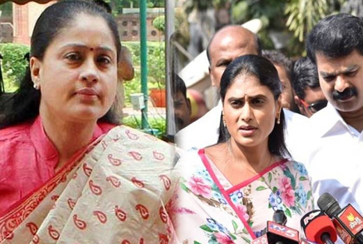 Lady Amitabh supports Jagan Mohan Reddy Sister YS Sharmila