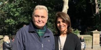 Neetu Kapoor hints at Rishi Kapoor suffering from Cancer