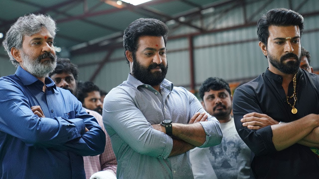 Rajamouli decides it for NTR not for Ram Charan
