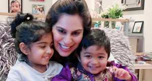 Ram Charan wife Upasana enjoying with 2 Babies