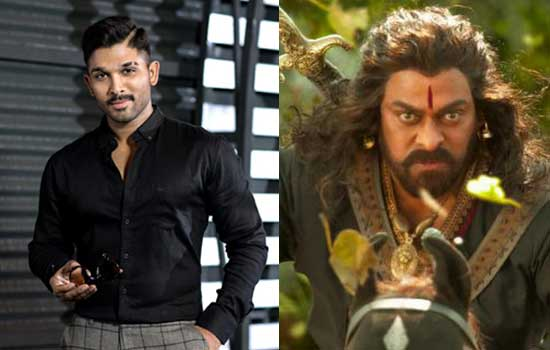 Allu Arjun Cameo in Sye Raa- A bad choice