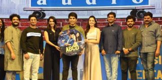 Allu Sirish, Niharika Konidela Launch 'Mella Mellaga' Single From 'ABCD'