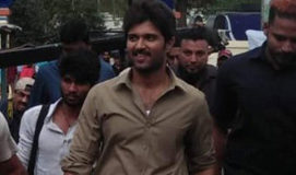 Is this Vijay Deverakonda look from Kranthi Madhav film?