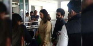 Jr NTR back to city from Dubai