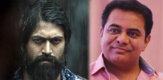 KTR : KGF What a movie!!