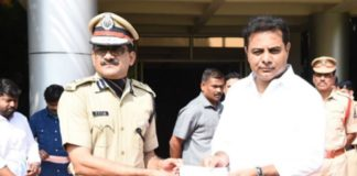 KTR donates Rs 25 Lakhs to Pulwama martyrs