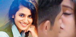 LEAKED Video! Priya Prakash Varrier locks lips with Roshan