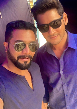 Mahesh Babu and Srimurali in one frame