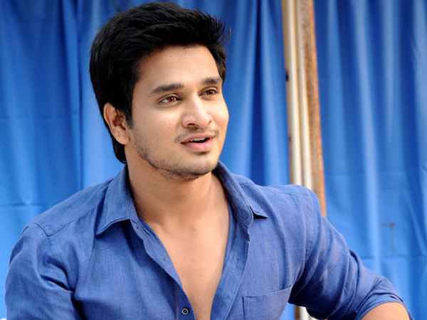 New Title and Poster treat of Nikhil film on the way