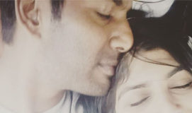 Vishal romantic pic with Anisha Alla