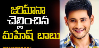 GST Commissionerate appreciate Mahesh babu