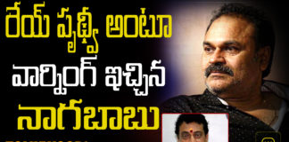 Nagababu warning to prithvi