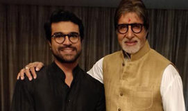 Amitabh Bachchan birthday wishes to Ram Charan