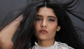 Braless Ritika Singh in transparent gown