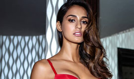 Disha Patani in bra and unbuttoned denims