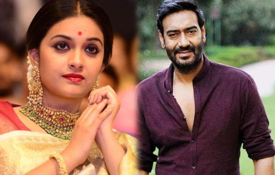 Keerthy Suresh Bollywood debut with Ajay Devgn
