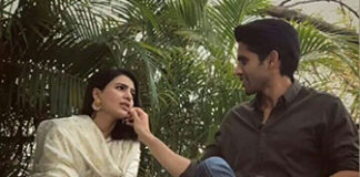 Naga Chaitanya romance with expressionless Samantha