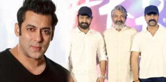Salman Khan challenges Rajamouli RRR