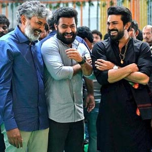 Songs Completed for Rajamouli RRR without female leads
