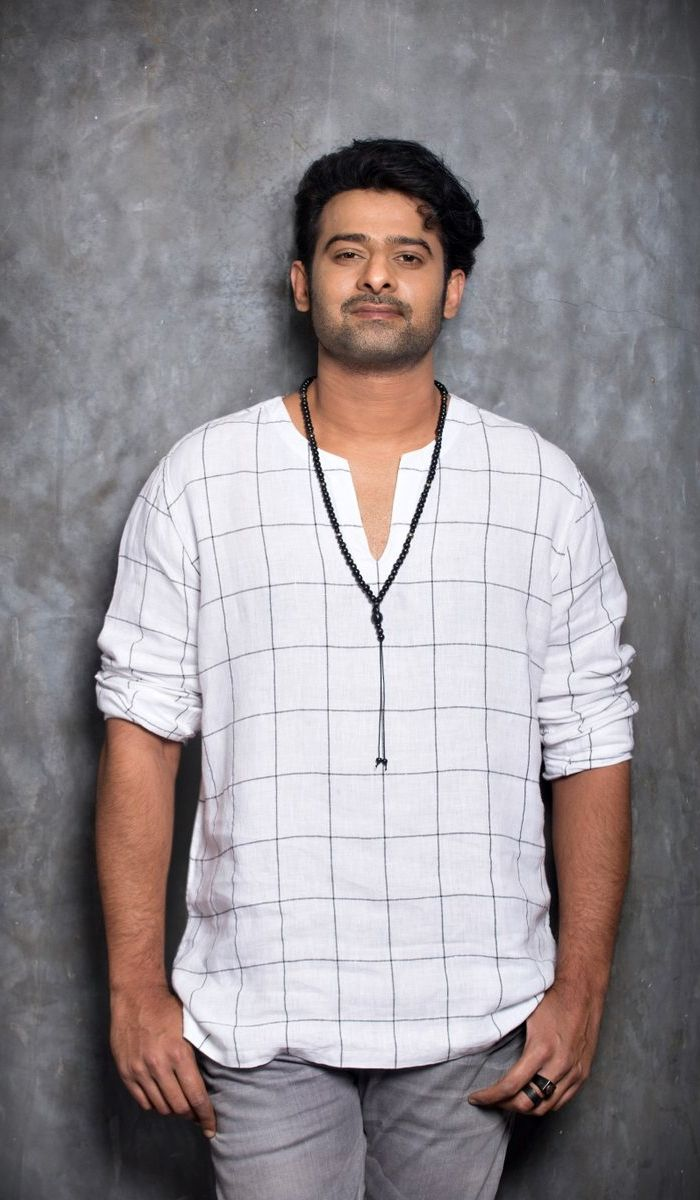Prabhas camera ready body