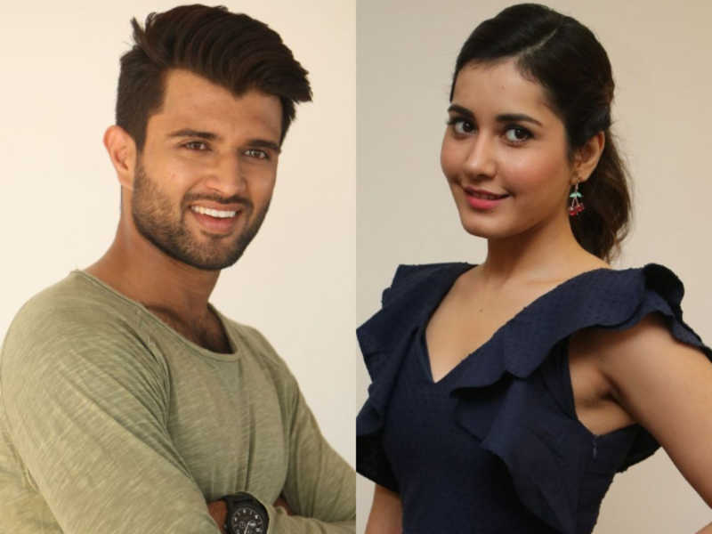 Raashi Khanna lip lock with Vijay Deverakonda?