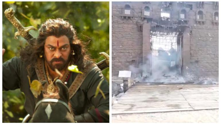 Sye Raa Shoot: The real news is different