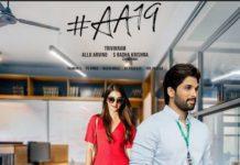 Allu Arjun fan made poster