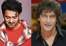 Chunky Pandey and prabhas