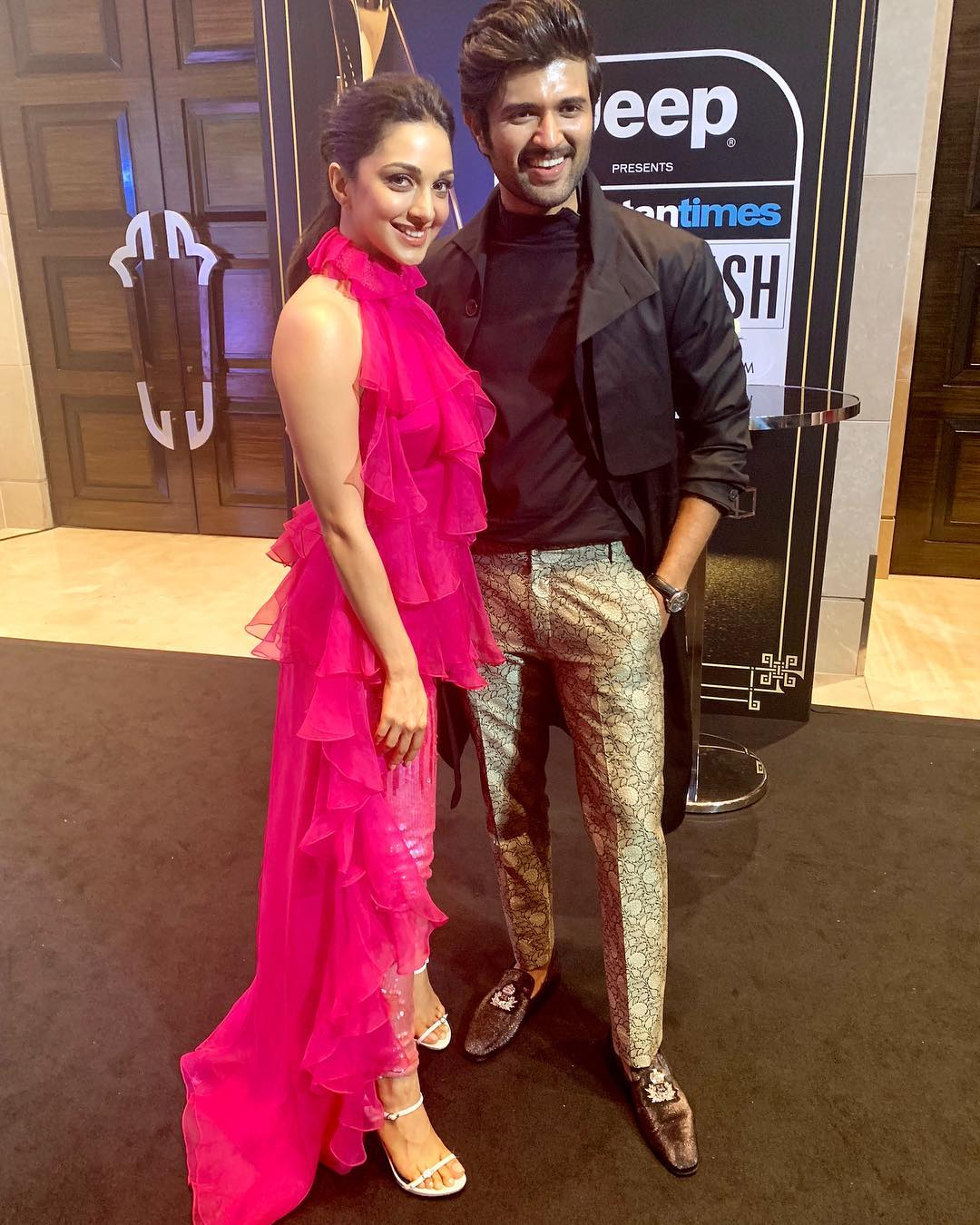 Kiara Advani And Vijay Devarakonda