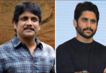 Naga Chaitanya and Nagarjuna