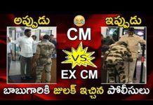 See Police Checked Chandrababu At Gannavaram Airport