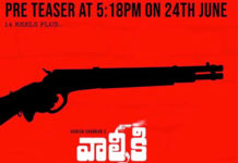 Valmiki pre teaser gets a launch date
