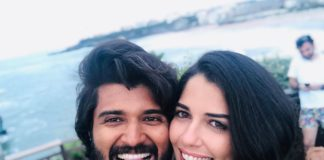 Vijay Devarakonda and Izabelle Leite