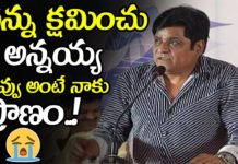 Comedian Ali Said Sorry To Chiranjeevi