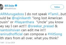 Hollywood actor wants to become Nayantara Uncle