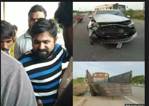 Chalaki Chanti gets injured in car accident