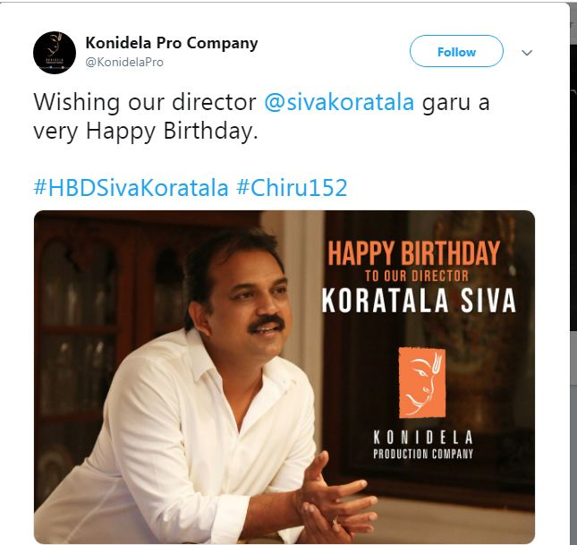 Chiranjeevi next with Koratala Siva
