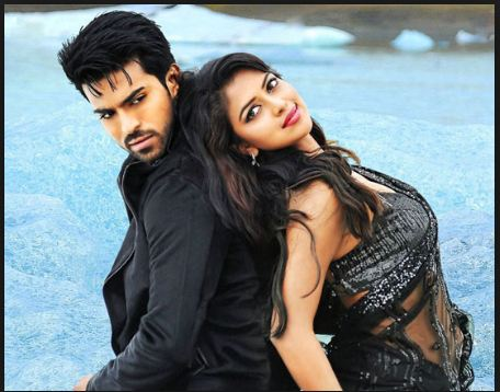 Amala Paul and Ram Charan