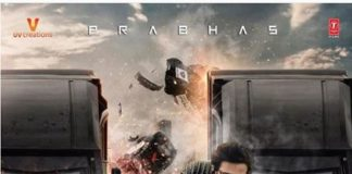 Prabhas releases Saaho New Poster