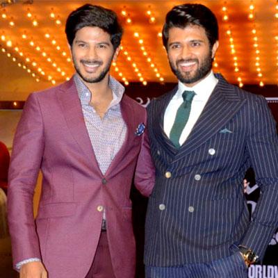 Vijay Devarakonda and Dulquer Salmaan