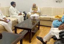 Ex Samajwadi, Neeraj Shekhar meets Narendra Modi and Amit Shah