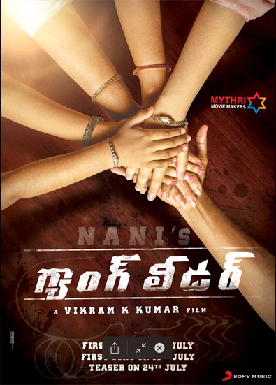 Nani Gang Leader Pre Look Poster out