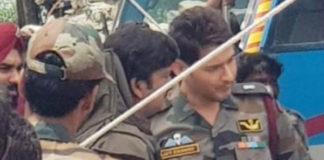 Mahesh Babu look leaked from Sarileru Neekevaru sets