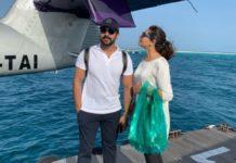 Ram Charan romance with wife Upasana in Maldives
